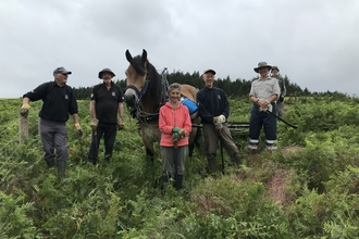 Bracken Rolling at Pow HIll group photo