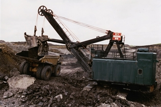 Open Cast Workings at Rainton Meadows, early 1990s