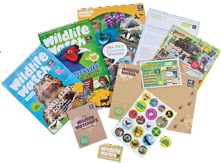 Example of a wildlife watch pack